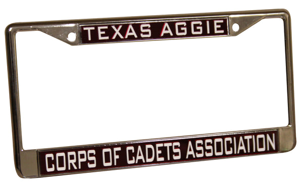 Corps of Cadets Association License Plate Frame