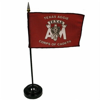 Corps Of Cadets Desk Flag