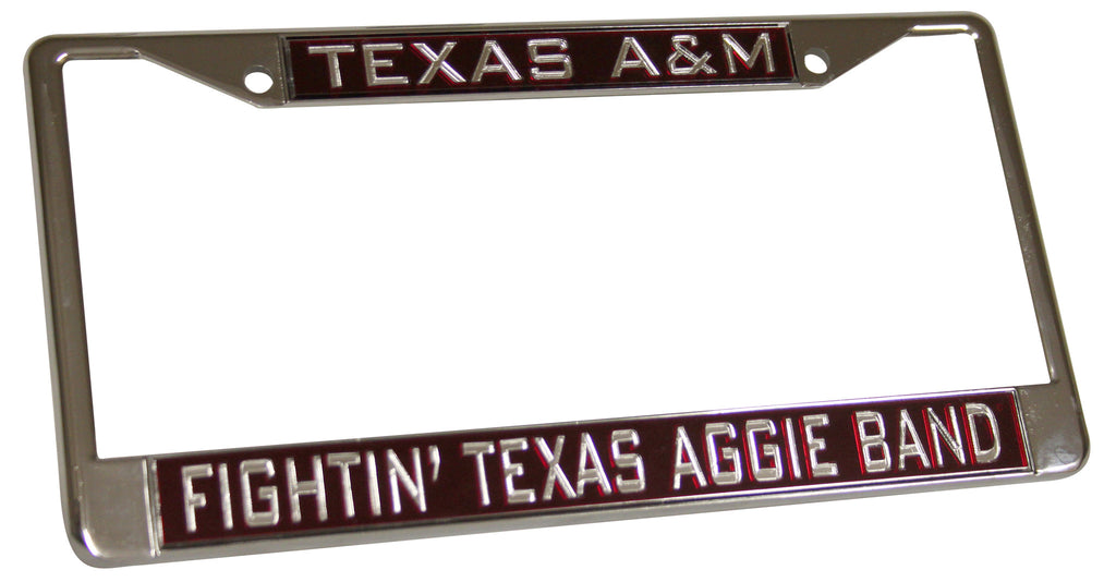 Fightin' Texas Aggie Band License Plate Frame