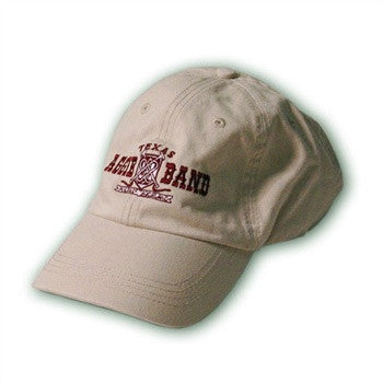 Unstructured Aggie Band Logo Hat