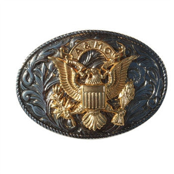 Ol' Army AMC Stack Belt Buckle