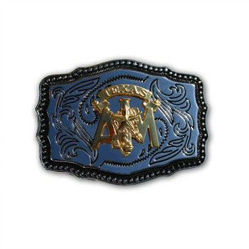 Corps Stack Rectangular Belt Buckle