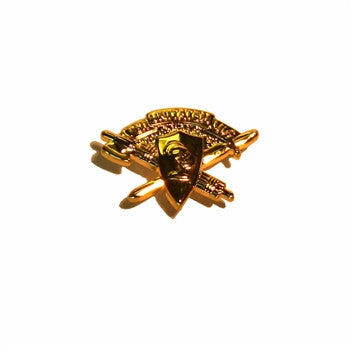 Corps Brass Lapel Pin