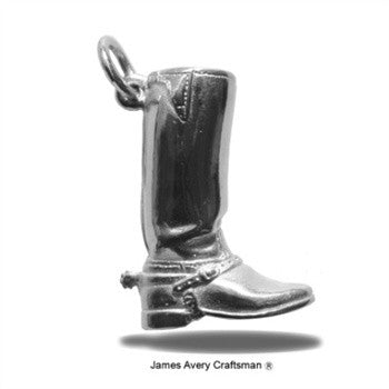 James Avery Boot Pendant
