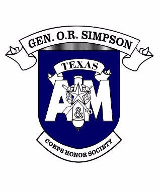 O.R. Simpson Honor Society Decal
