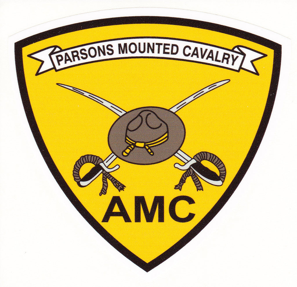 Parson's Mounted Cavalry Decal