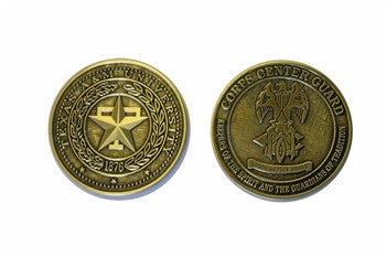 Corps Center Guard Coin