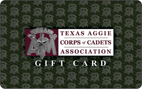 Corps of Cadets Association Gift Card