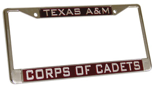Corps of Cadets License Plate Frame