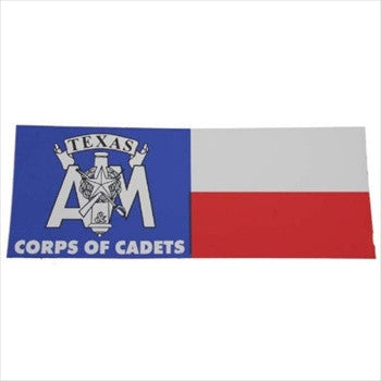 Texas Flag Decal with Corps Stack
