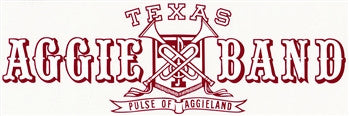 "Fightin' Texas Aggie Band ""Pulse of Aggieland"" Window Decal"
