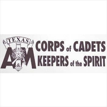 Corps of Cadets Keepers of the Spirit Bumper Sticker