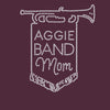 Aggie Band Mom Rhinestone V-Neck