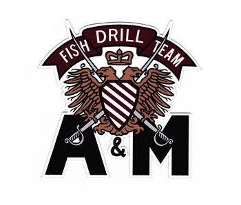 Fish Drill Team Decal