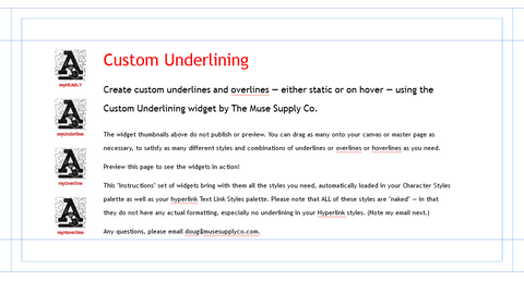 Custom Underlining in Adobe Muse (in Muse)