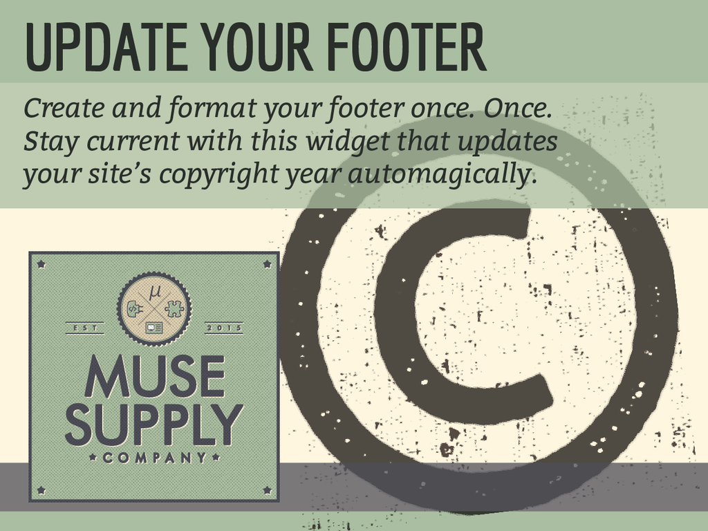 Update Your Footer (C)