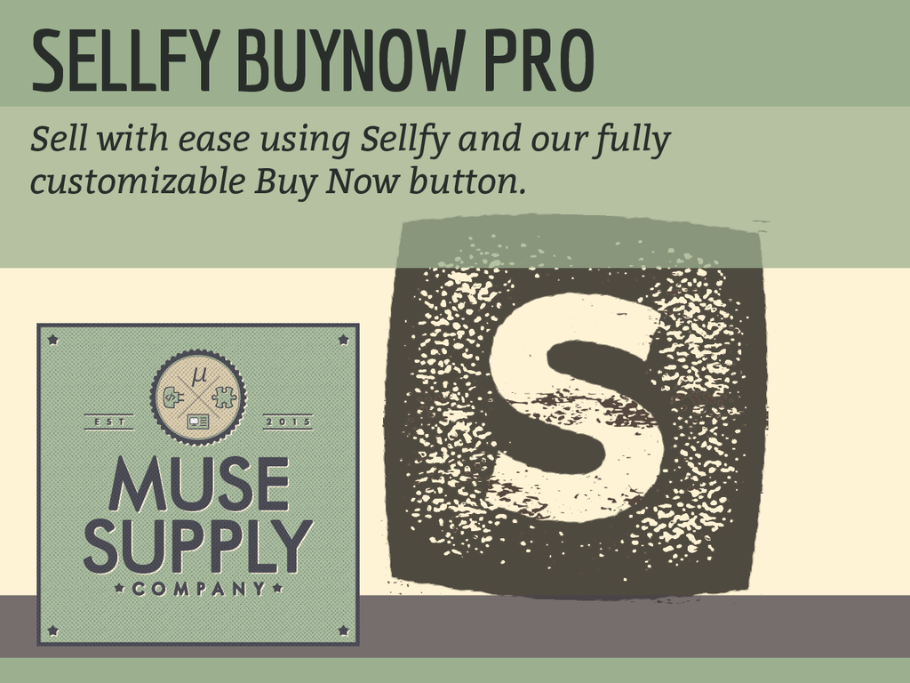Sellfy BuyNow Button (PRO)