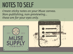 Sticky Notes for Adobe Muse
