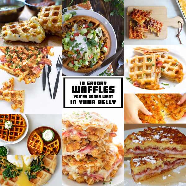 10 Savory Waffles You're Gonna Want In Your Belly - WeirdBeardCandleCo.com