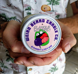 Candy Licker 8oz soy candle - grape chocolate lollipop scented Glamour Wounds collaboration
