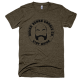 Weird Beard Candle Co Logo T-shirt Tri-Coffee