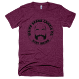 Weird Beard Candle Co Logo T-shirt Tri-Cranberry