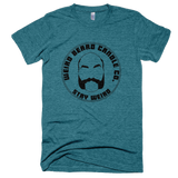 Weird Beard Candle Co Logo T-shirt Tri-Evergreen
