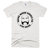 Weird Beard Candle Co Logo T-shirt Tri-Oatmeal