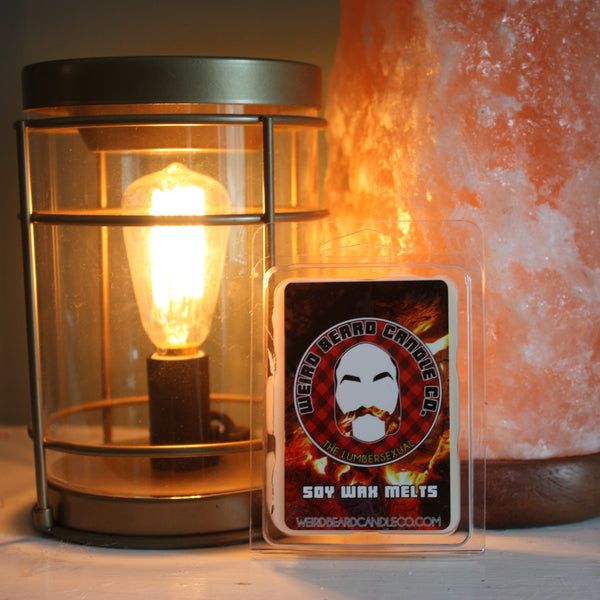 The Lumbersexual - campfire and red wine scented soy wax melt pack