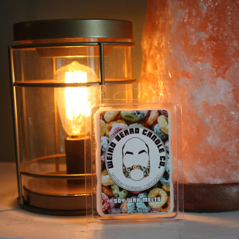 Saturday Morning Cartoons I fruity loop scented soy wax melts Weird Beard Candle Co