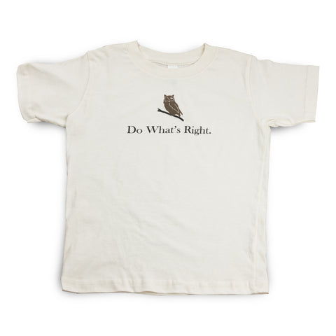 Kids - Do What's Right T-shirt