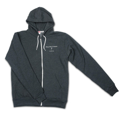 Unisex Dark Grey Heather Hooded Sweatshirt