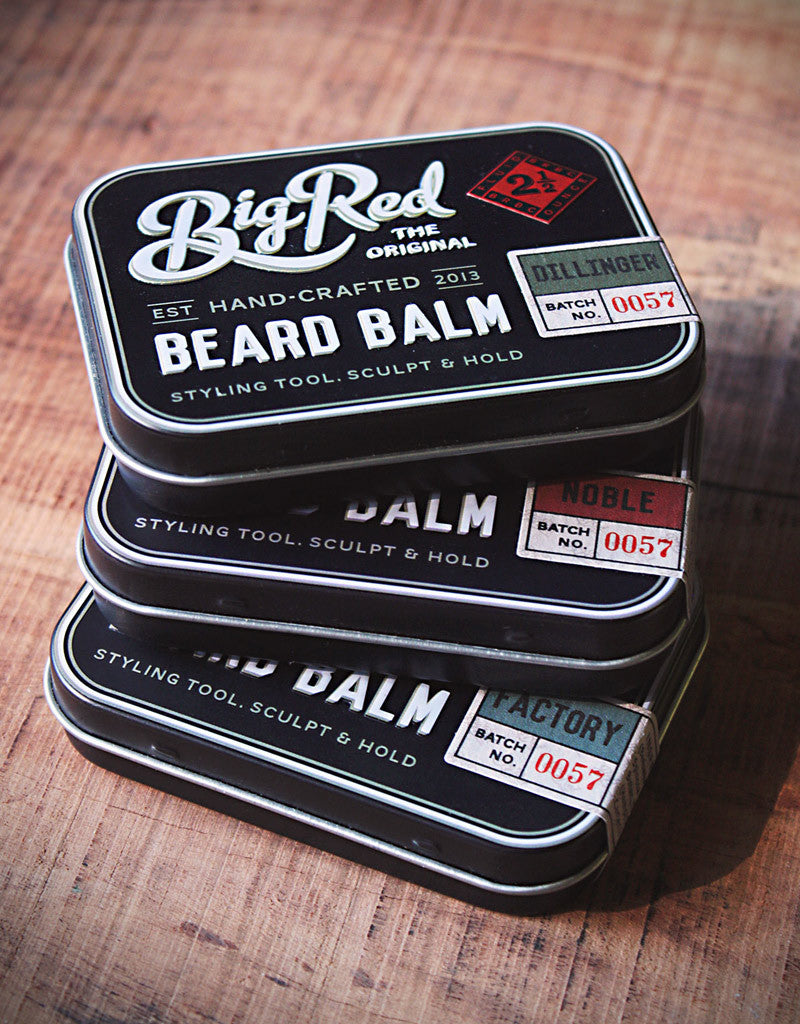 Big Red Beard Balm 2.5 oz. tin – Noble