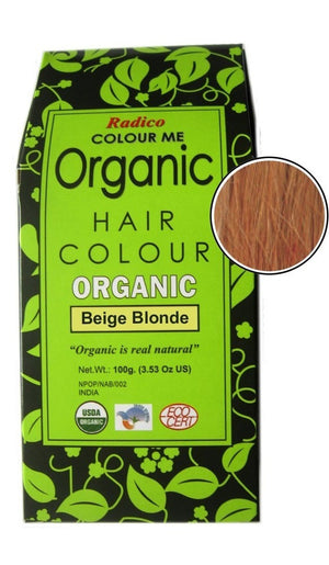Organic Hair Color | Beige Blonde