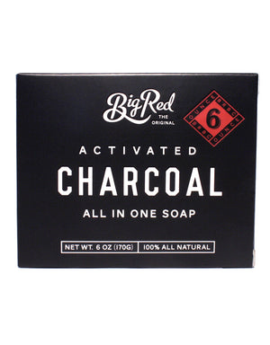 Big Red All-In-One Activated Charcoal Soap