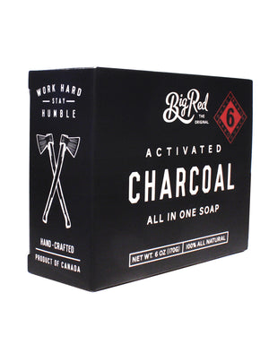 Big Red All-In-One Soap – Charcoal