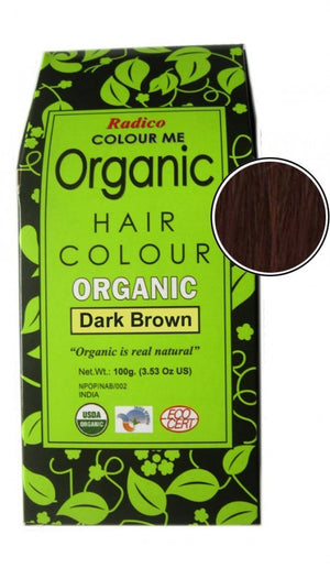 Organic Hair Color | Dark Brown