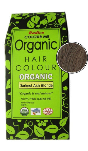 Organic Hair Color | Darkest Ash Blonde