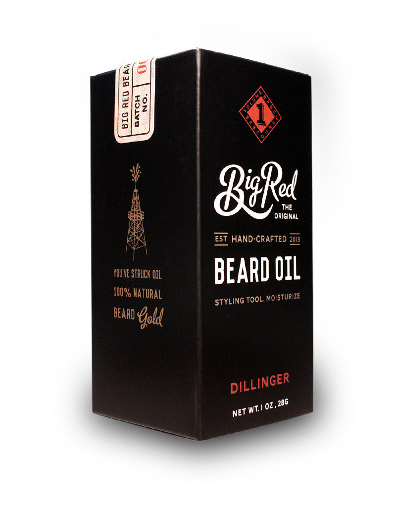 Big Red Beard Oil 1 oz. – Dillinger