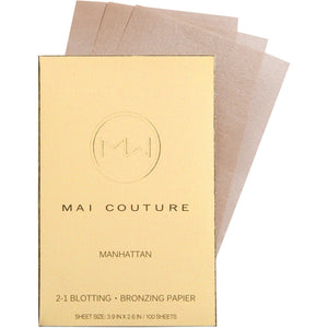 2-1 BLOTTING/ BRONZING PAPIER MANHATTAN (Mai Couture)