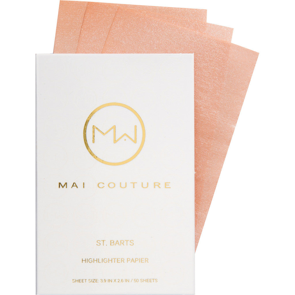Mai Couture Highlighter Paper (Cristal Cove)