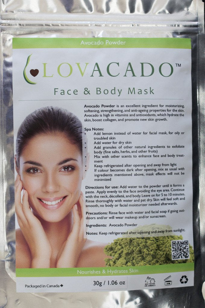 Avocado Mask for Face and Body Mask