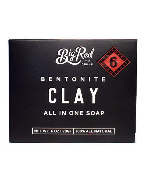 Big Red All-In-One Soap – Clay