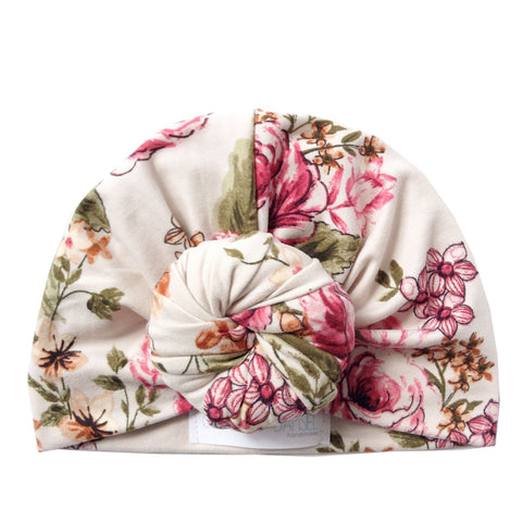 Sarah Top knot Bun Turban