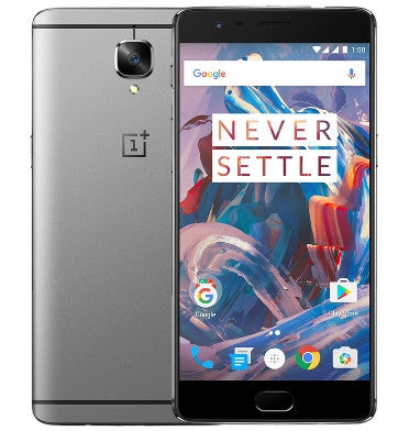 ONEPLUS 3 64GB GRAPHITE CERTIFIED REFURBISHED