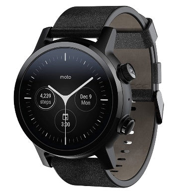 MOTO 360 GEN 3 SMARTWATCH (2020) PHANTOM BLACK