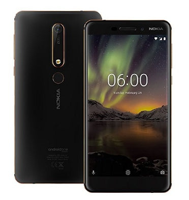 NOKIA 6.1 (2018) 32GB DUAL SIM BLACK/COPPER