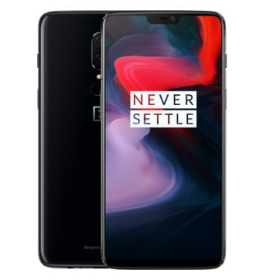ONEPLUS 6 64GB/6GB DUAL SIM MIRROR BLACK