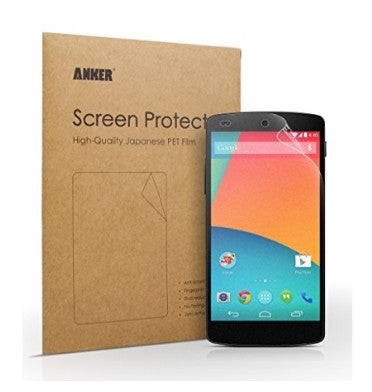 NEXUS 5 SCREEN PROTECTOR HD 3PACK | ANKER