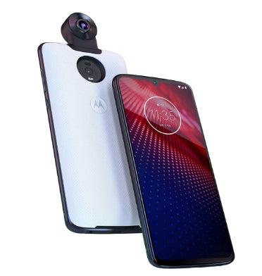MOTOROLA MOTO Z4 128GB FLASH GRAY WITH MOTO 360 CAMERA